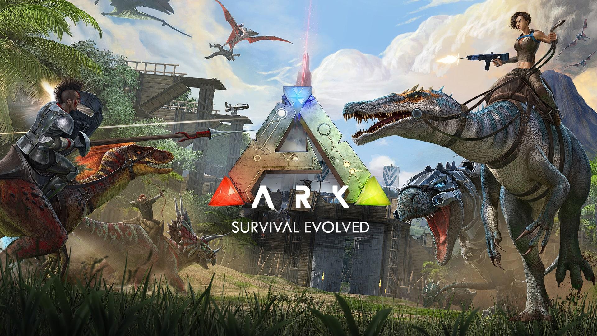 ARK เกมแนวเอาชีวิตรอด ไดโนเสาร์