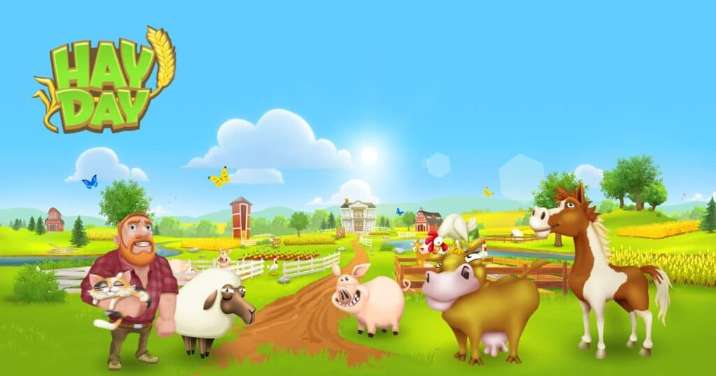 Hay Day เกมฟาร์ม