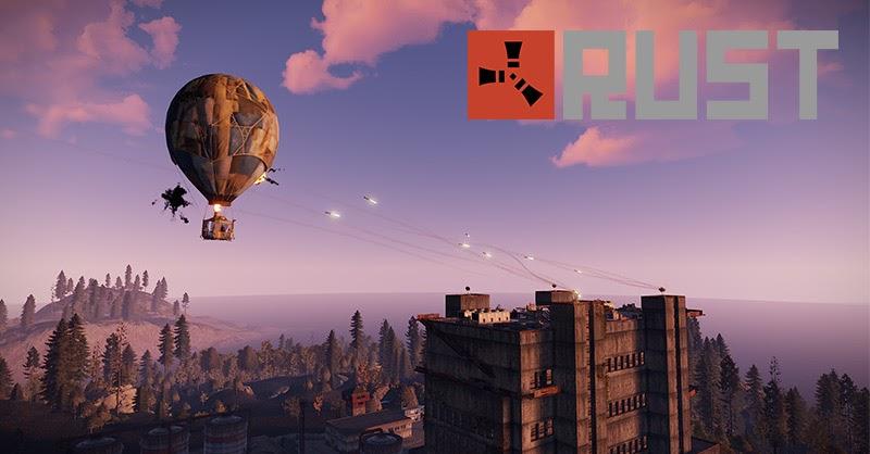 Rust เกมเอาชีวิตรอดยอดนิยม