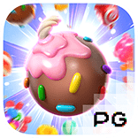 Candy burst logo